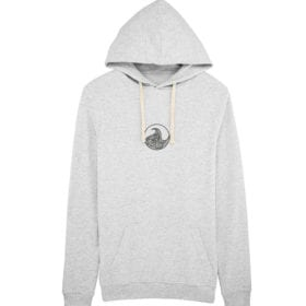Unisex ight weight hoodie front