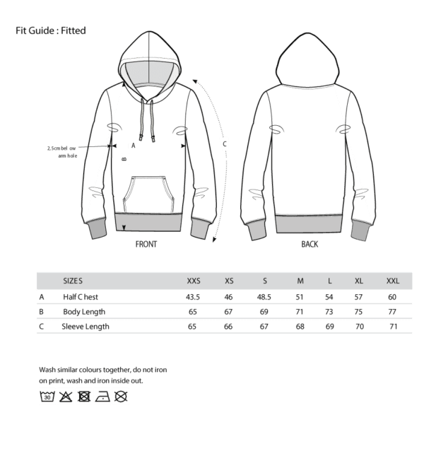 Fit Guide - Unisexihoodie-01