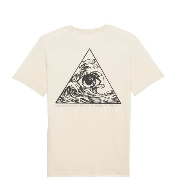 RAW TEE 3 PILLAR PRINT - BACK