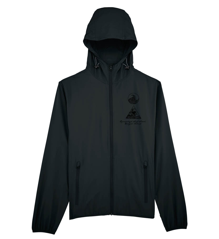 WIND BREAKER WITH 3 LOGOS- FRONT