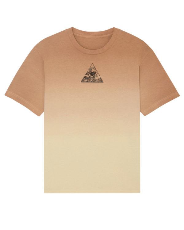 Dip Dye Organic Cotton T-Shirt -Front