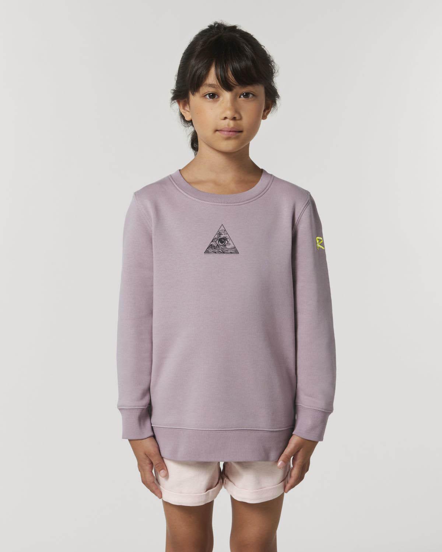 Kids 3 pillars sweatshirt_lilac_
