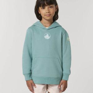 Kids Teal hoodie_front_