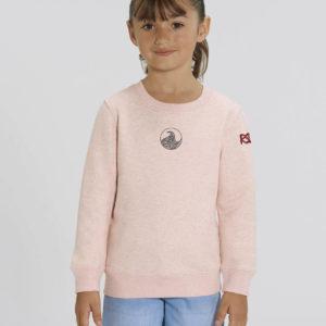 Kids pink Sweatshirt_Front_
